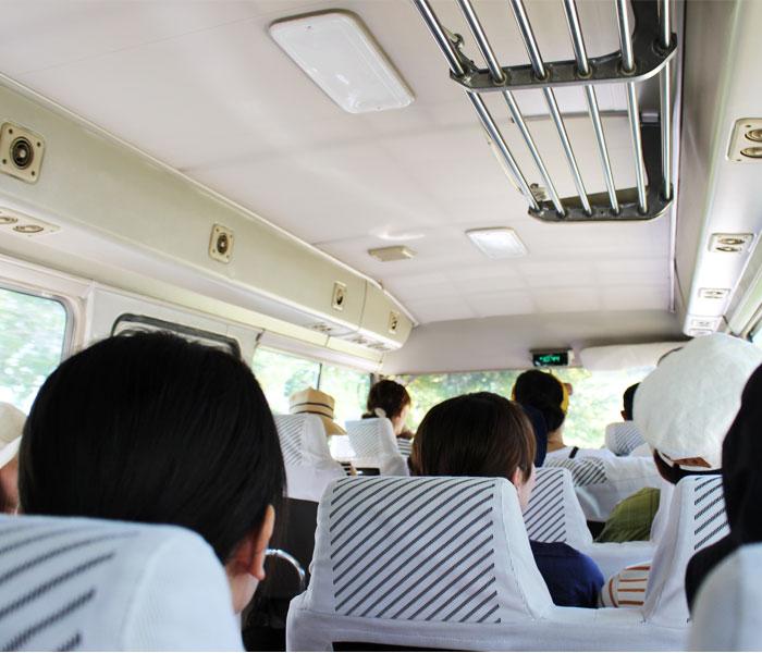 いな穂観光バスのサービス/2.送迎でのご利用